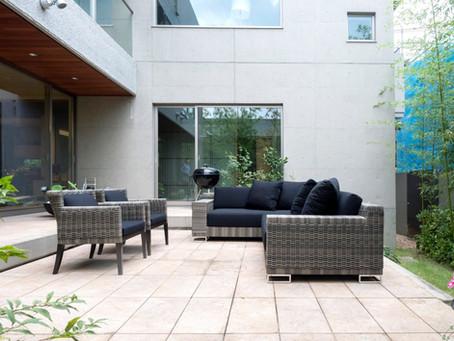 MEX CORNER SOFA SET / Artficial Liana & B-Guard Chair / Artficial Liana(屋外家具)