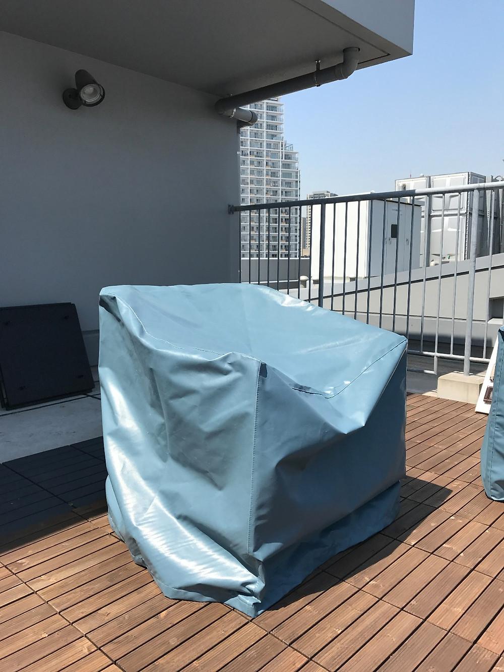屋外家具用保護カバー