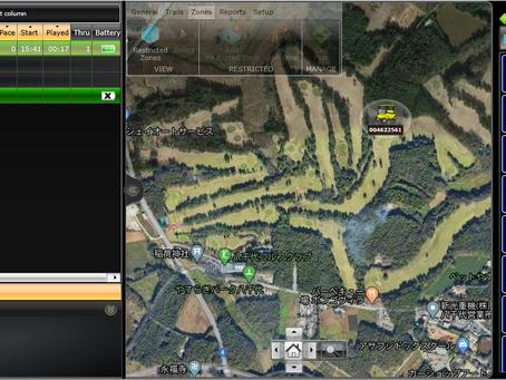 ジオフェンス対応GPSシステム導入テスト