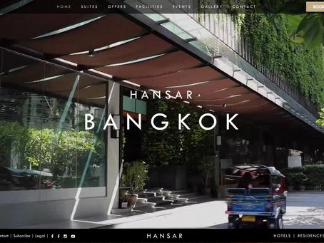 Hansar Bangkok Hotel 屋外家具納品事例