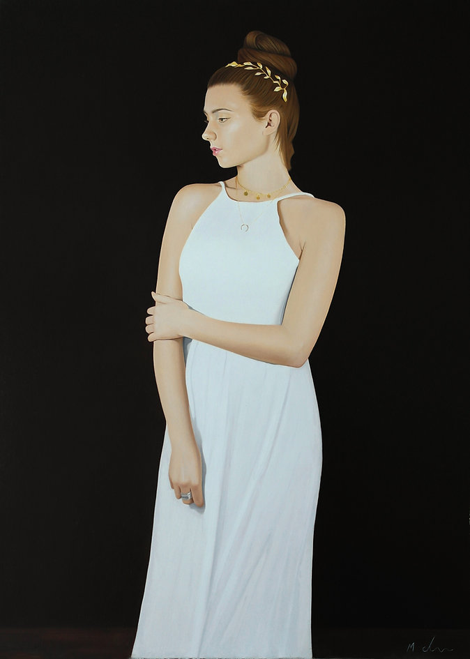 realist oil painting of woman in a white dress.jpg
