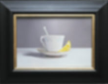 oil painting for sale of a teacup modern art