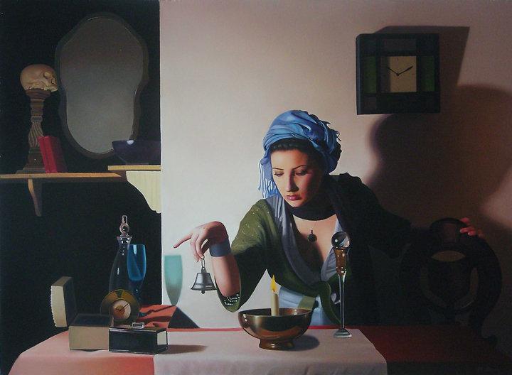 Oil Painting Michael de Bono Fine Art