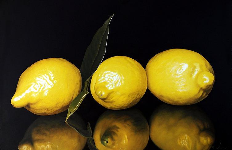 Three Lemons Reflected.jpg