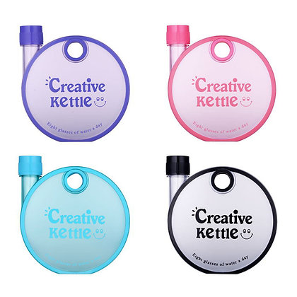 6354 Creative Round Snail Shape Drinking Water Bottle