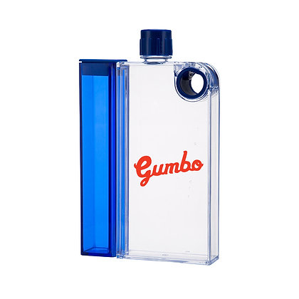 6443 Double Decker Notebook Bottle With Snack Container