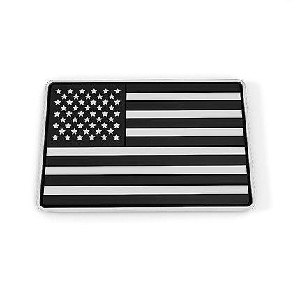 6480 Custom Garment Label American Flag PVC Patch