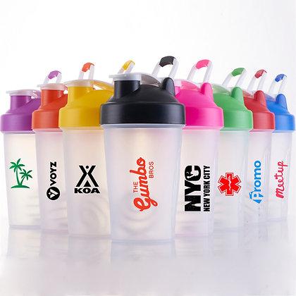 6341 14 oz Shake Water Bottle With Handle