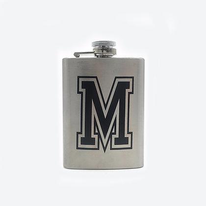 6242 4 oz. Stainless Steel Liquor Flask