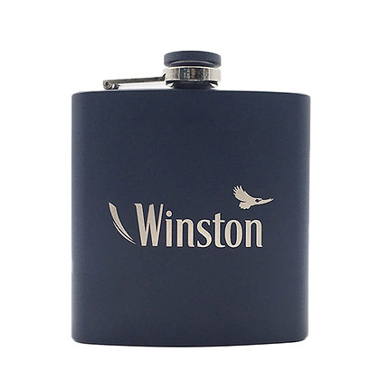 6248 6 Ounce Flask Spray with Engraved