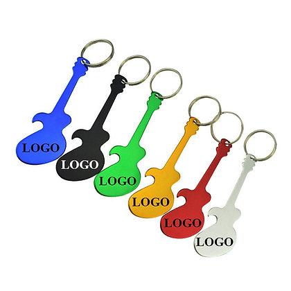 8189 Guitar Bottle Opener Keychain