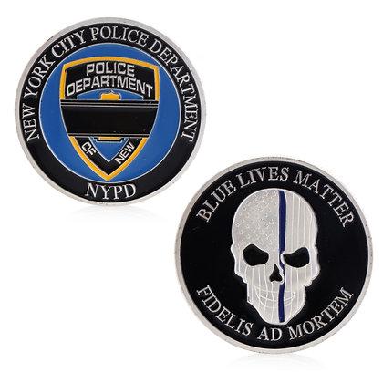 6201 NYPD Commemorative Coin