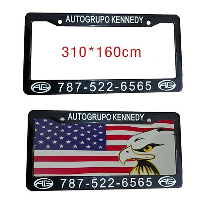 7561 Classic License Plate Frame