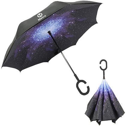 6437 48'' Reverse Umbrella C Handle