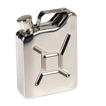 6266 Jerry Can Metal Hip Flask 4 OZ