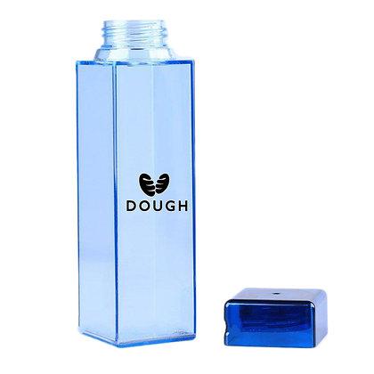6353 Square Flat Water Bottle 15 Oz