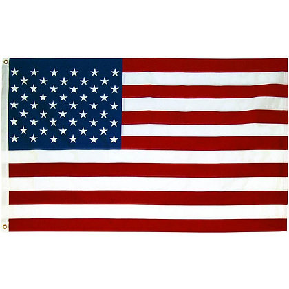 6451  US Flag 4ft x 6ft Embroidery