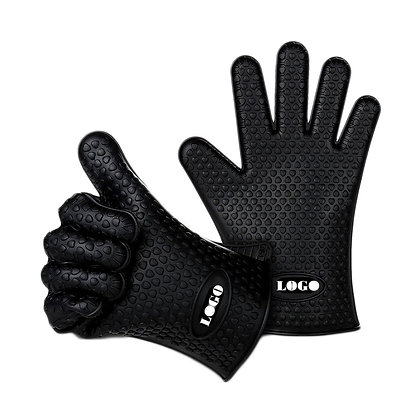 6222 Silicone Grill BBQ Gloves