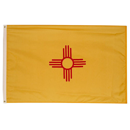 6458 New Mexico 3x5 ft Durable D210 State Flag