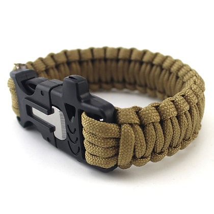 8193 Paracord Outdoor Survival Bracelet