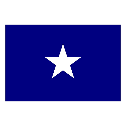 6459 Bonnie Blue 3x5 ft Durable Polyester Flag With Embroidered