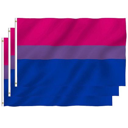 6582 Bisexual Pride Flag 3 x 5 feet