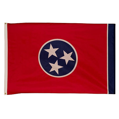 6446 Tennessee State Flag Embroidery 3x5 FT