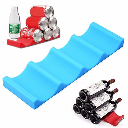 6494 Silicone Beer Can Bottle Racks