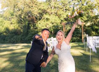 Outdoor Wedding Arbor - Happiness