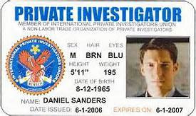 A Maryland Private Investigator