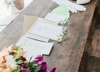 SAVE THE DATE - for your guests to attend your outdoor wedding ceremony & reception- Prosperity