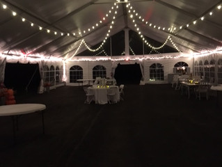 Outdoor / Garden Weddings Venue with a lovely tent for the reception. Prosperity Mansion located in