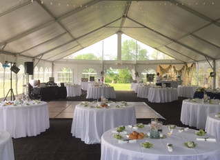 Recent garden wedding cermony and reception. Prosperity Mansion - Frederick / Westminster Maryland