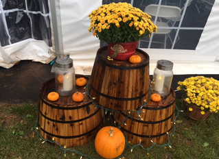 Fall Decorations- We have pumpkins, mums and great Fall decorations throughout !