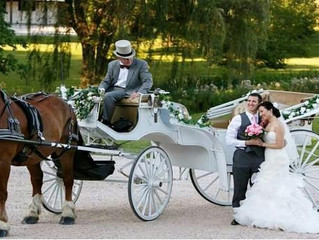 We are adding horse drawn carriages to our list. Check it out- Prosperity Mansion in Frederick / Car
