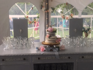 An Ice Cream Bar at a wedding and events venue located in Frederick / Carroll Co Maryland