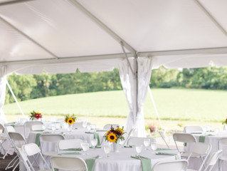 Outdoor / Garden Wedding Ceremony & Reception  -   Prosperity Mansion located in Frederick / Car