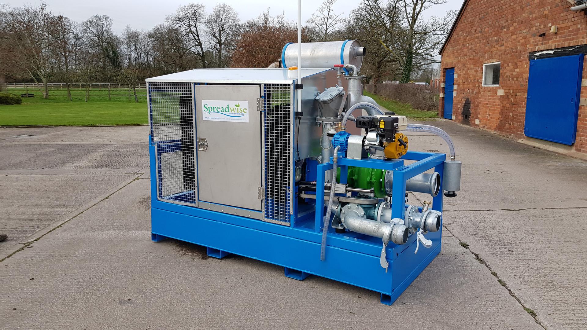 Bauer Engine Drive Pump