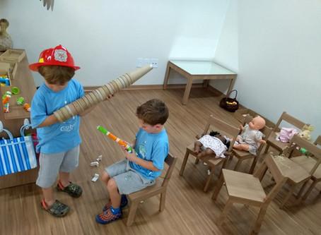 Learning through Play - Aprendizagem através da brincadeira.