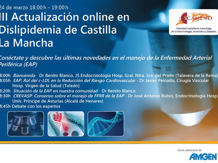III Actualización online en dislipemia