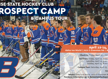 PROSPECT CAMP DATES SET