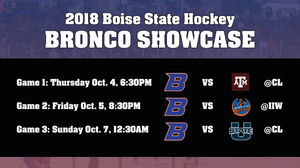 College Hockey Returns To Boise This Weekend