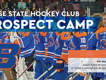 Boise State Men's Hockey Prospect Camp 2021