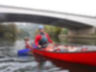 Canoeing in Dorset