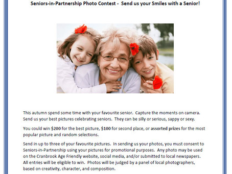 Get you Cameras out!  SIP Photo Contest is Live.