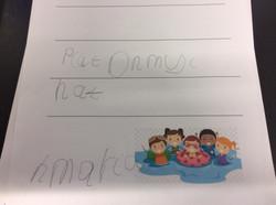 Maria's super writing!