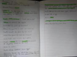 Lexie's brilliant writing!