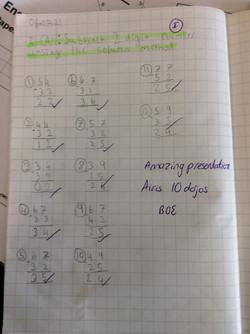 Airis's amazing maths!