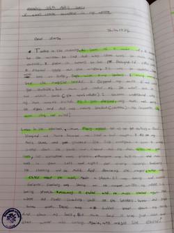 Charlie's brilliant stamina in writing!.