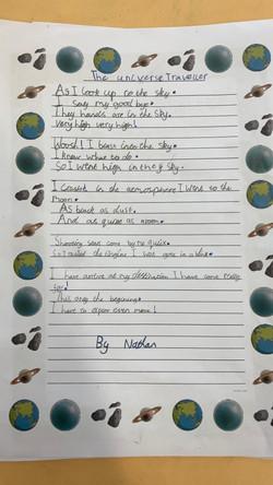 Nathan's amazing poem!